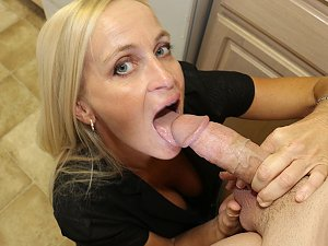 Mom take step sons large cock